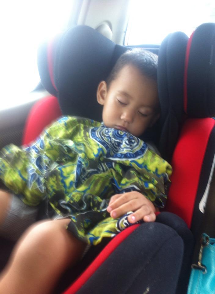 Jack fall asleep.