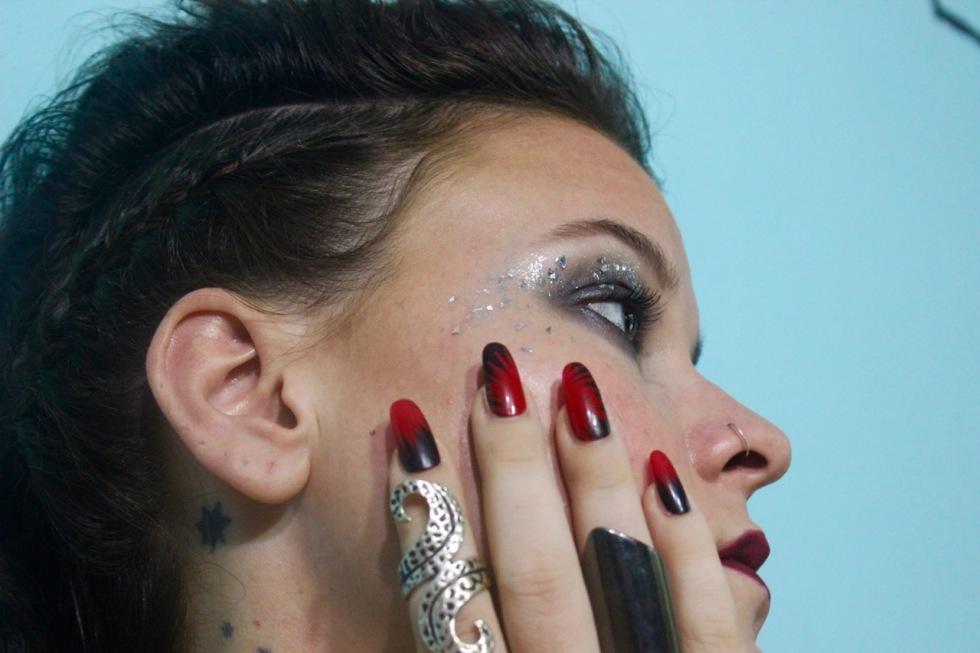 Nails, makeup and hair: Maria Kiesbye Scholtyssek Photo: Alicia Scholtyssek